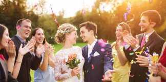إتيكيت حفلات الزواج