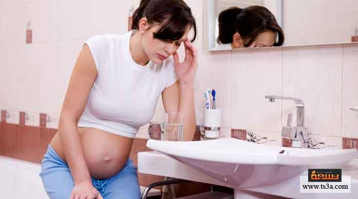 اعراض الجفاف عند الحامل