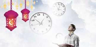 تنظيم وقت الدراسة في رمضان