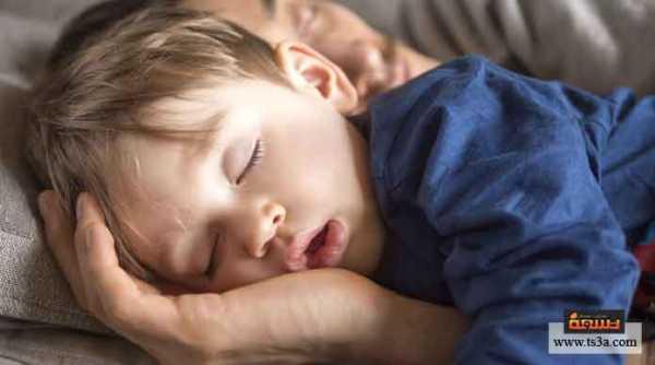 حصول طفلك على النوم والطعام
