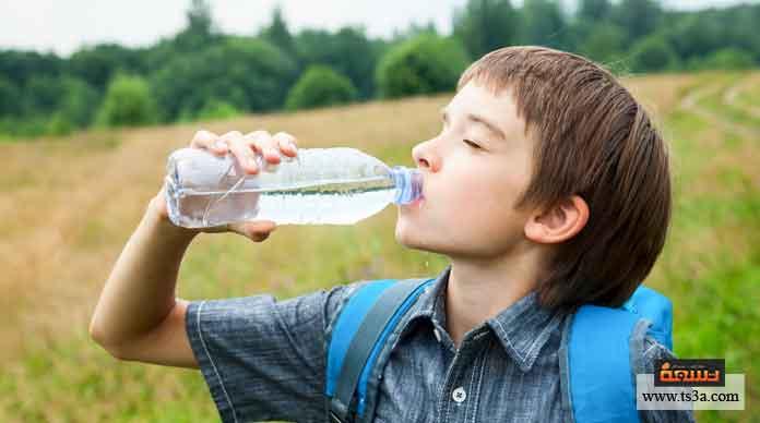علاج جفاف الجسم عند الأطفال