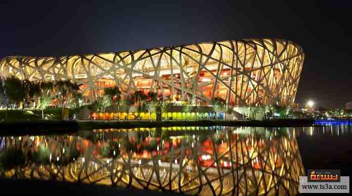 ستاد صيني شهير استضاف أهم فعاليات الألعاب الأوليمبية في 2008، يتميز بتصميمه الفريد وتم الانتهاء من بناءه في سنوات قليلة.