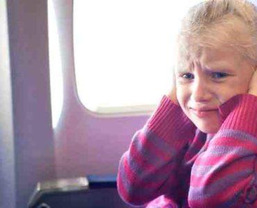 ألم الأذن في الطائرة