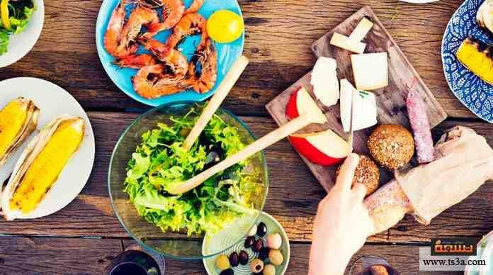 مم يتكون نظامك الغذائي؟