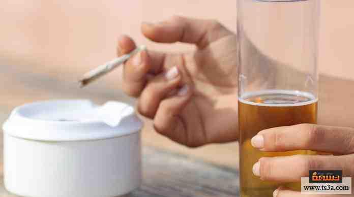 الكحول والمخدرات بالنسبة إليك ...