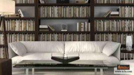 المكتبة المنزلية