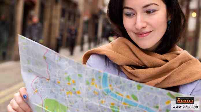 قراءة الخريطة