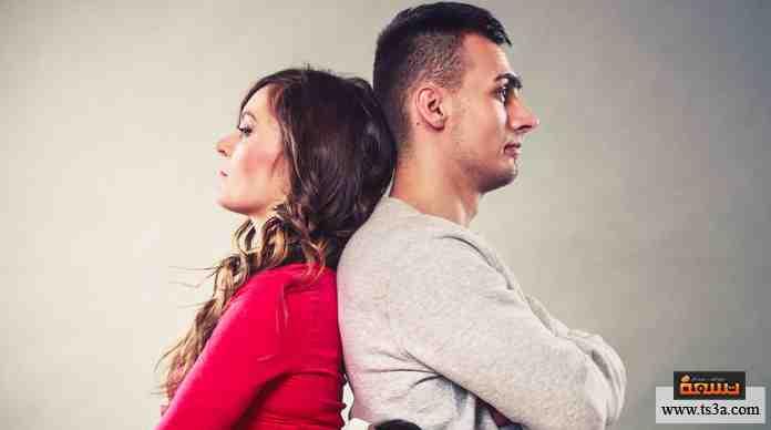 المشاكل في العلاقات بالنسبة إليك ...