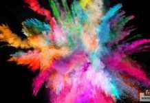 الألوان