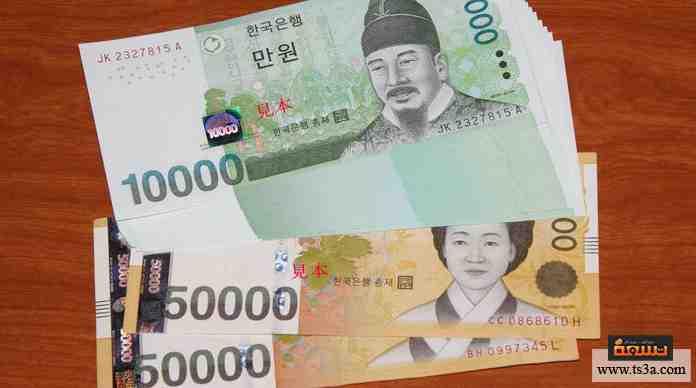 عملة كوريا الجنوبية هي ...