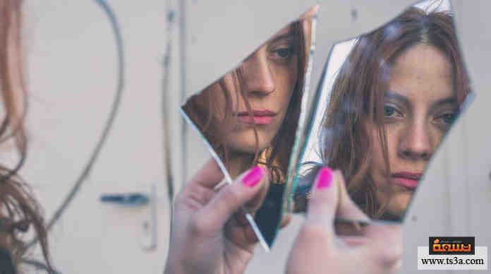 النظر إلى المرآة ...