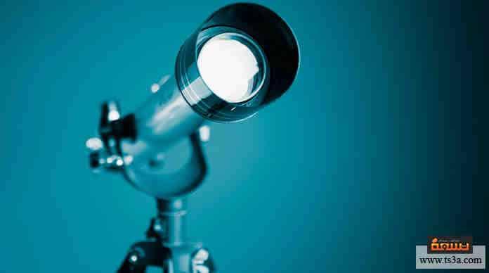 استخدام التلسكوب