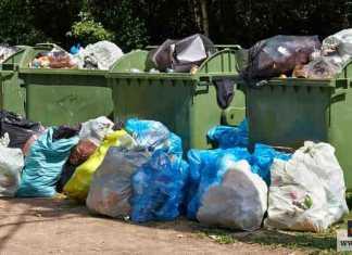 التخلص من القمامة