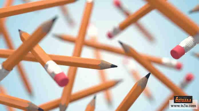 لديك دقيقة لتفكر في 5 أشياء يمكن فعلها بالقلم الرصاص غير الكتابة، كم شيئًا منطقيًا فكرت فيه؟