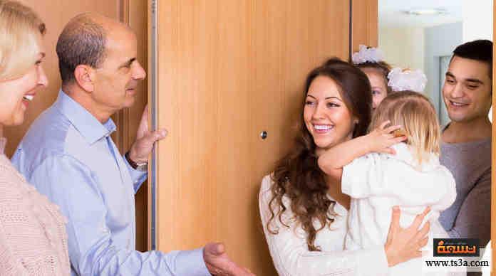 عندما تنوي زيارة أحد أصدقائك في بيته، هل تتصل به لتعلمه عن قدومك؟