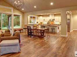 الأرضيات الخشبية