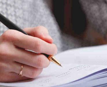 الكتابة الأدبية