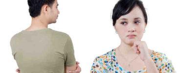تلميحات الزوج والزوجة