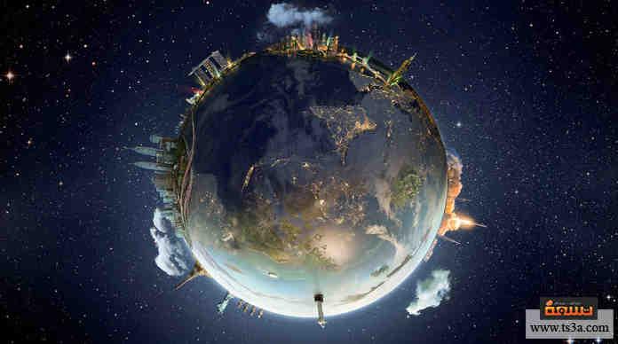 توقف دوران الأرض