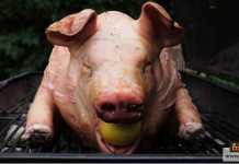 لحوم الخنازير