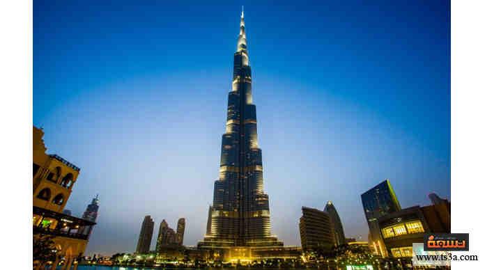 برج خليفة كيف وكم استغرق بناء البرج الأعلى في العالم تسعة