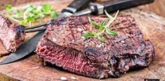 لحم الغزال