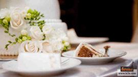 إيتيكيت كعكة الزفاف