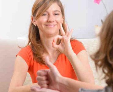 التواصل مع أصم
