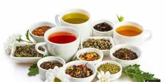 أنواع الشاي