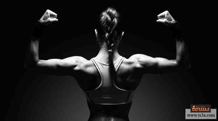 بناء عضلات المرأة