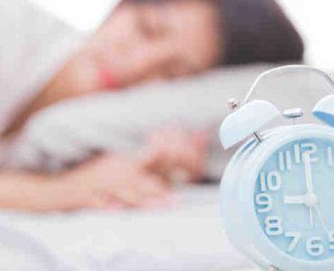 ضبط موعد النوم