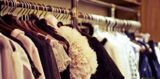 تخزين الملابس