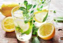 ماء الليمون