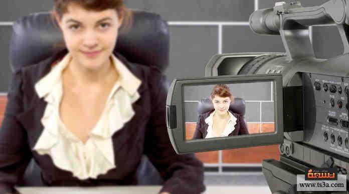 مذيع تلفزيوني