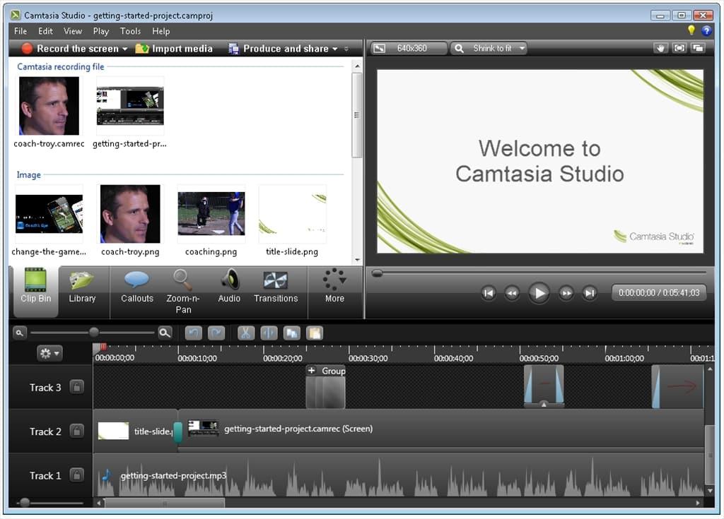برامج تحرير الفيديو