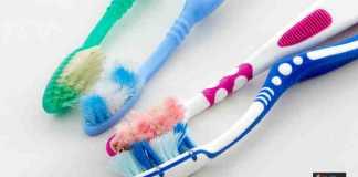 تلف فرشاة الأسنان