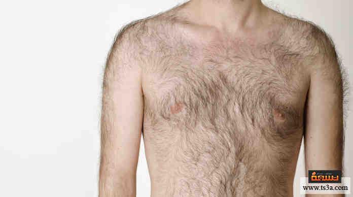 شعر الجسم الكثيف