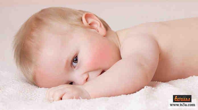 نضارة بشرة الطفل