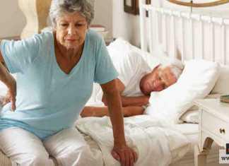 النوم مع آلام الظهر