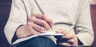 كتابة المذكرات الشخصية