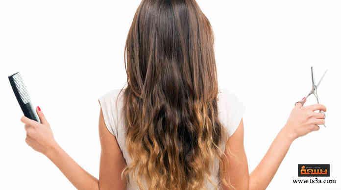 قص الشعر