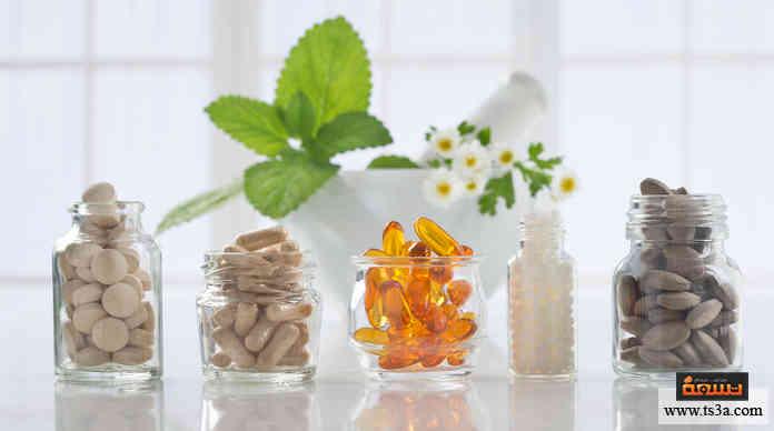 أنواع الفيتامينات