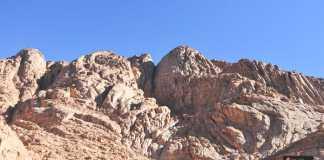 تسلق جبل سانت كاترين
