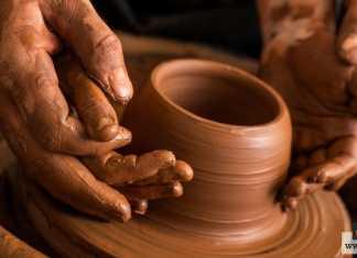 صناعة الفخار التقليدي