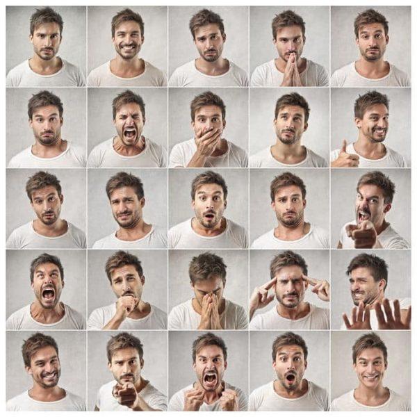 قراءة الوجوه بواسطة لغة الجسد