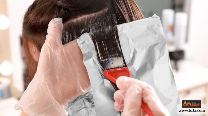 لون صبغة الشعر