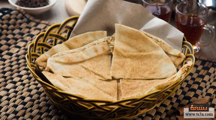 البصارة المصرية الخُبز البلدي