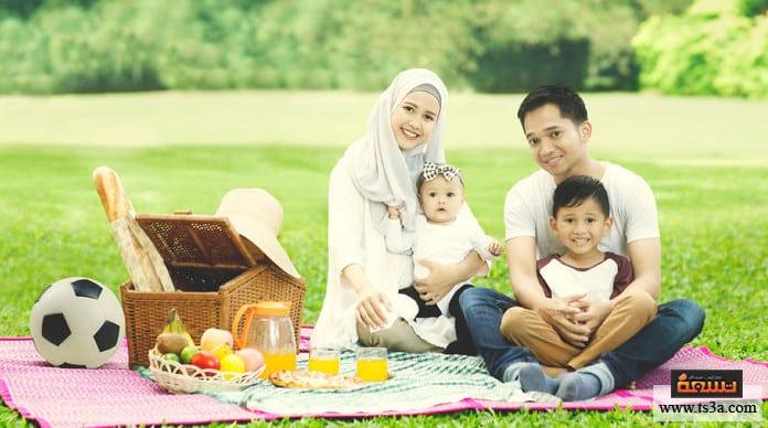 العلاقة الأسرية في رمضان اخرج في نزهة مع أسرتك بعد الإفطار