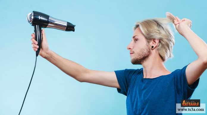 تصفيف الشعر كن حذرًا بشأن تطبيق الكثير من الحرارة على شعرك