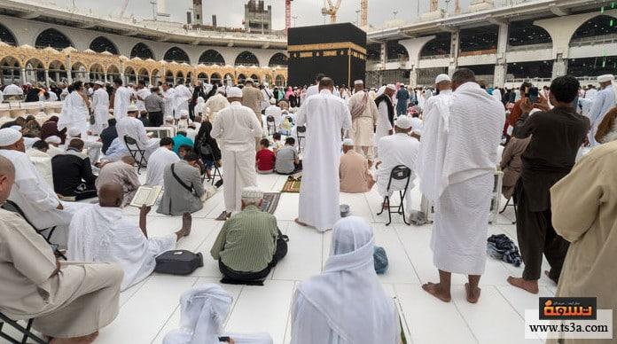 حضور صلاة العيد الوقوف في الصف جنبا إلى جنب عند حضور صلاة العيد